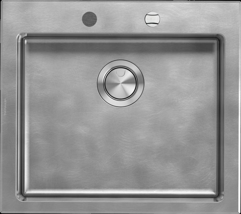 Lavello Unique incasso da 58×51