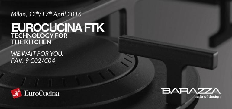 BARAZZA AT FTK, SALONE DEL MOBILE, 12th-17th APRIL 2016