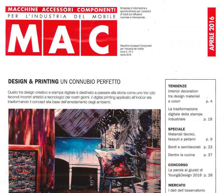 MAC – Macchine accessori componenti per l'industria del mobile – ITALY