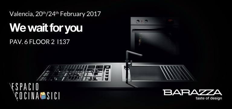 BARAZZA AT ESPACIO COCINA- SICI SPAIN 20.02.2017-24.02.2017