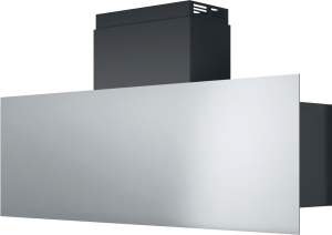 Steel wall cooker hood for 120 cm module