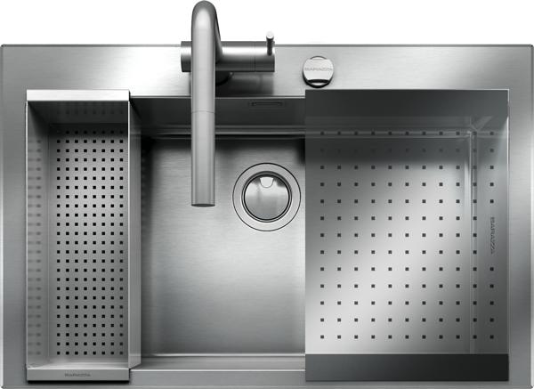 Lavello B_Open Kit incasso da 79×51