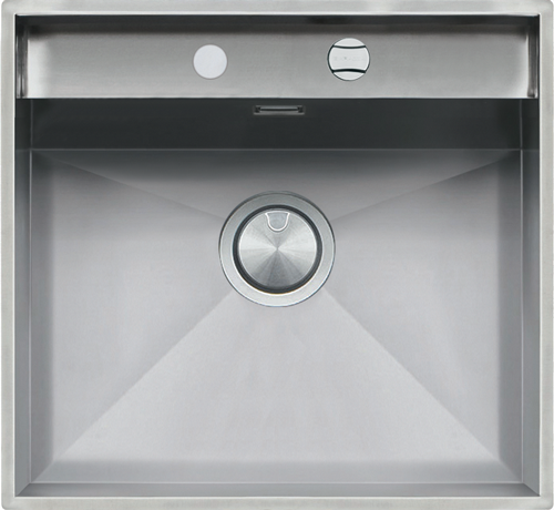 Lab sinks with lowering flat edge built-in and flush 57×51