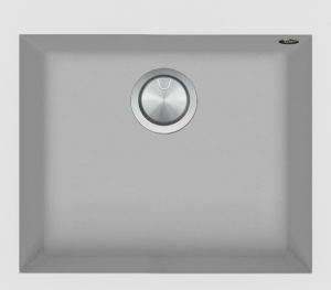 57×50 cm Soul built-in sink white