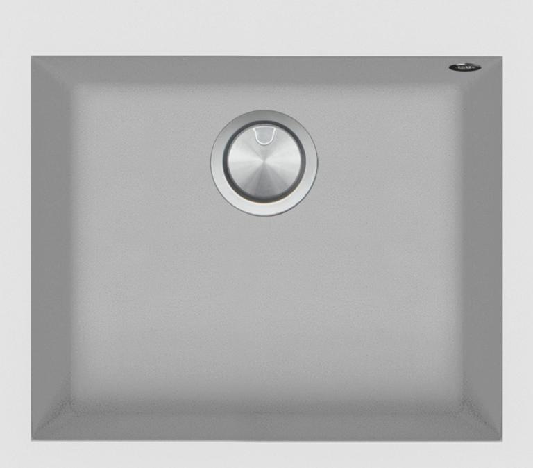 57×50 cm Soul built-in sink white