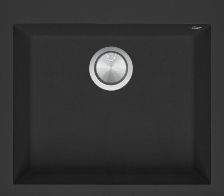 57×50 cm Soul built-in sink black