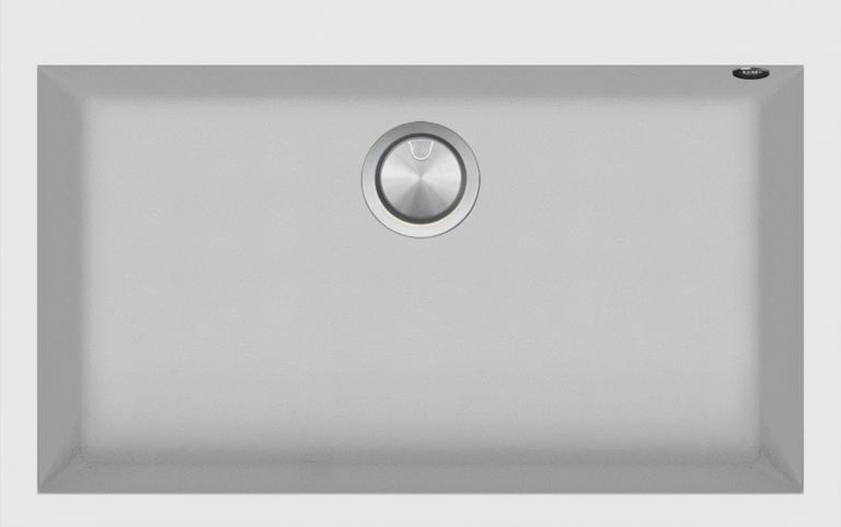 79.5×50.5 cm Soul built-in sink white