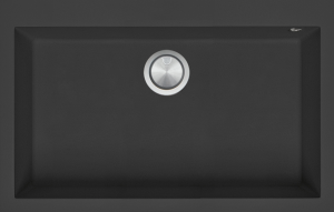 79.5×50.5 cm Soul built-in sink black