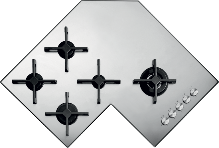 90 cm Select Plus built-in corner hob