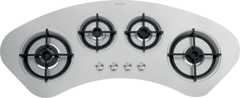 Tao curved built-in and flush hob