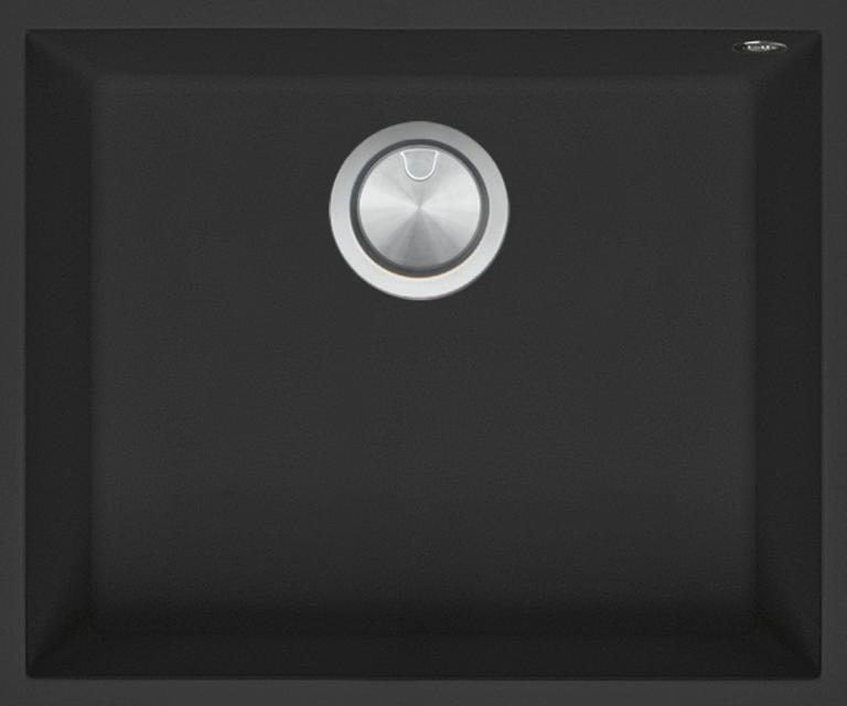 Cuve Carrée Soul de 50×40 B_granit noir
