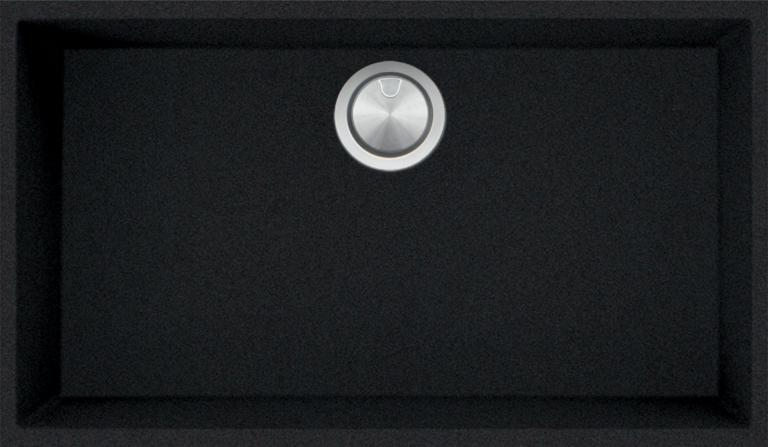 Cuve Carrée Soul de 72,5×40 B_granit noir