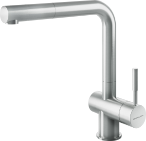 Steel Shower mixer tap