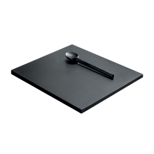 Sliding black HPL chopping board