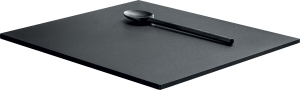 Tabla de cortar deslizante de HPL negro