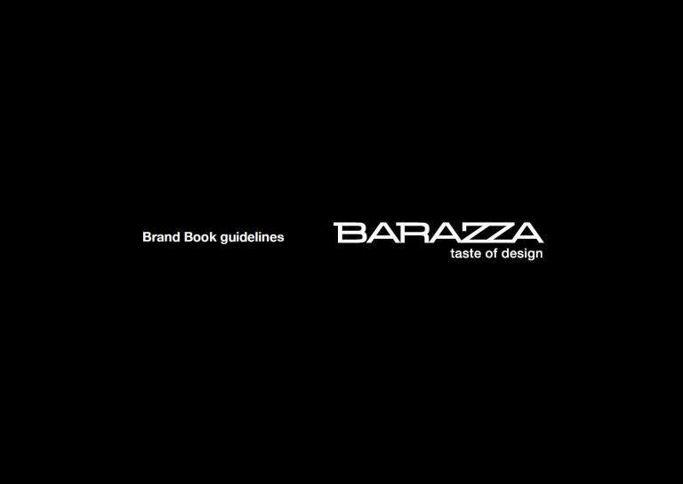 BrandBook Barazza