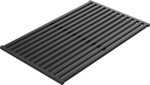Sliding support grid in black HPL