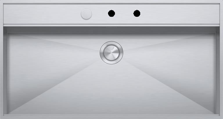 Lavello Flexi incasso e filo da 105×56  1 vasca con abbassamento