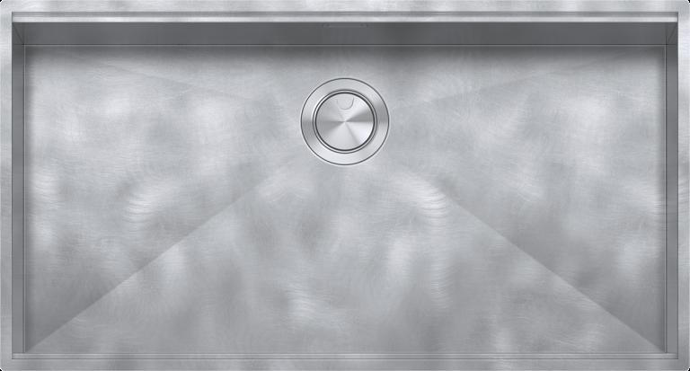 "80×46 cm Flexi Square bowl with radius ""0""  with lowering"