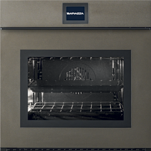60 cm Velvet Touch Screen Exclusive multiprogram oven drop-down door with handle – matt bronze