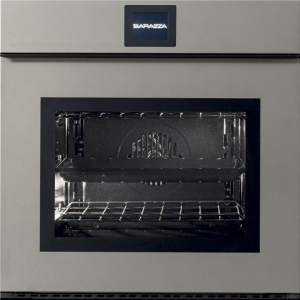 60 cm Velvet Touch Screen Exclusive multiprogram oven drop-down door with handle – matt graphite