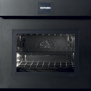 60 cm Velvet Touch Screen Exclusive multiprogram oven drop-down door with handle – matt black