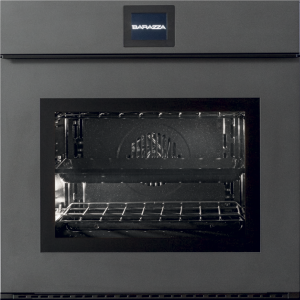 60 cm Velvet Touch Screen Exclusive multiprogram oven drop-down door with handle – matt titanium